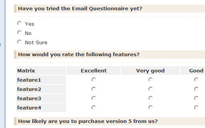Send personalized feedback form and get replies with your email – Feedback Survey Template